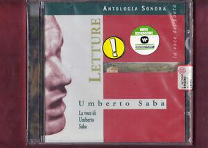 LETTURE-UMBERTO-SABA-CD-NUOVO-SIGILLATO
