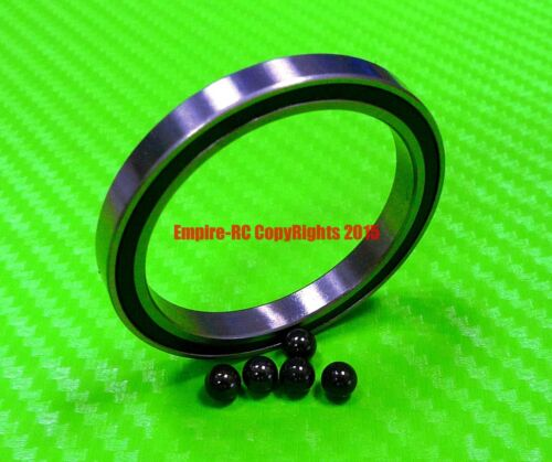 6705-2RS HYBRID CERAMIC Si3N4 Ball Bearing Bearings 6705RS 25x32x4 mm QTY 4