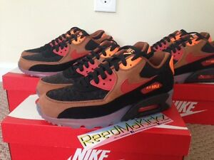 check out bf6f2 44f59 shop image is loading nike air max 90 ice qs halloween mens b635d fbcac