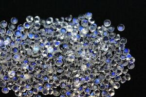 Natural-Rainbow-Moonstone-1-5mm-to-5mm-Cut-Round-Blue-Power-Loose-Gemstone