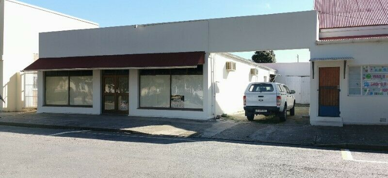 Commercial property for rent in Heidelberg, Western Cape, Garden Route.