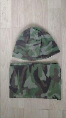 Il Migliore Rebel Mimetico Cappello E Sciarpa Set Età 2 A 6-mostra Il Titolo Originale