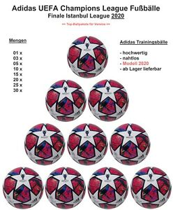 Adidas Finale Istanbul 20 nahtlos Fifa Fußball Ballpakete Trainingsbälle FH7340