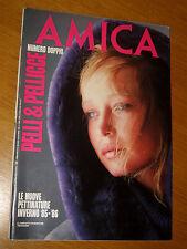 AMICA 1985/43=ROBERT DIADUL=JANE BIRKIN=SIMONE SIGNORET=MALATESTA=ITALO CALVINO=