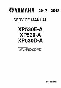 yamaha tmax base sx dx xp530 2017 2018 530 t max service manual rh ebay com manuel atelier yamaha tmax 500 yamaha tmax 500 workshop manual
