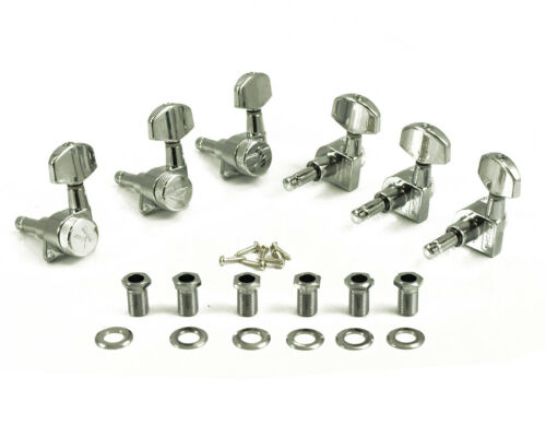 Chrome KL-3801C Kluson Locking Tuners Large Metal Button 3x3