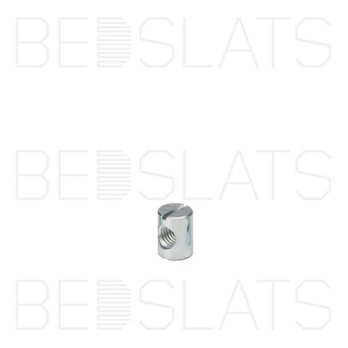 60mm Stocked in UK M8 Furniture Cross Dowel// Barrel Nut Various Lengths 12mm