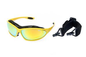Ravs  Skibrille Schutzbrille Sonnenbrille mit 70% mehr Kontrast für Allwetter