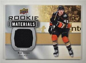 2019-20-Series-2-Rookie-Materials-RM-MJ-Max-Jones-Anaheim-Ducks