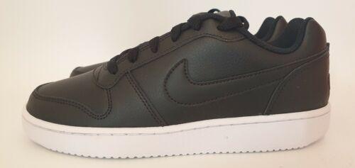 Nike ebernon Damas Baja Entrenadores Negro Talla Reino Unido 5.5 EUR 39.