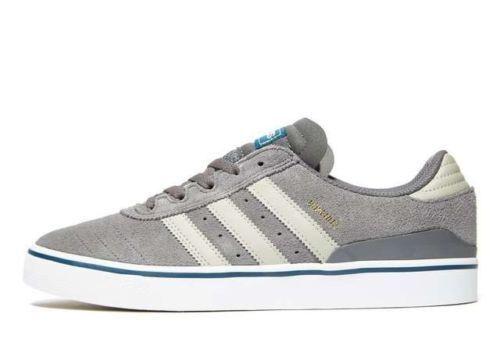 Busenitz 7 Adidas misura Pelle uomo Grigio Uk granito ® Adv scamosciata Originals Vulc 15wq5T4