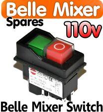 Belle Cement Concrete Mixer 110v On Off Switch Minimix 150 Spares Parts Electric