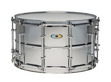 "Ludwig drums 8"" x 14"" SupraLite 1.5mm beaded steel shell snare drum LW0814SL New"
