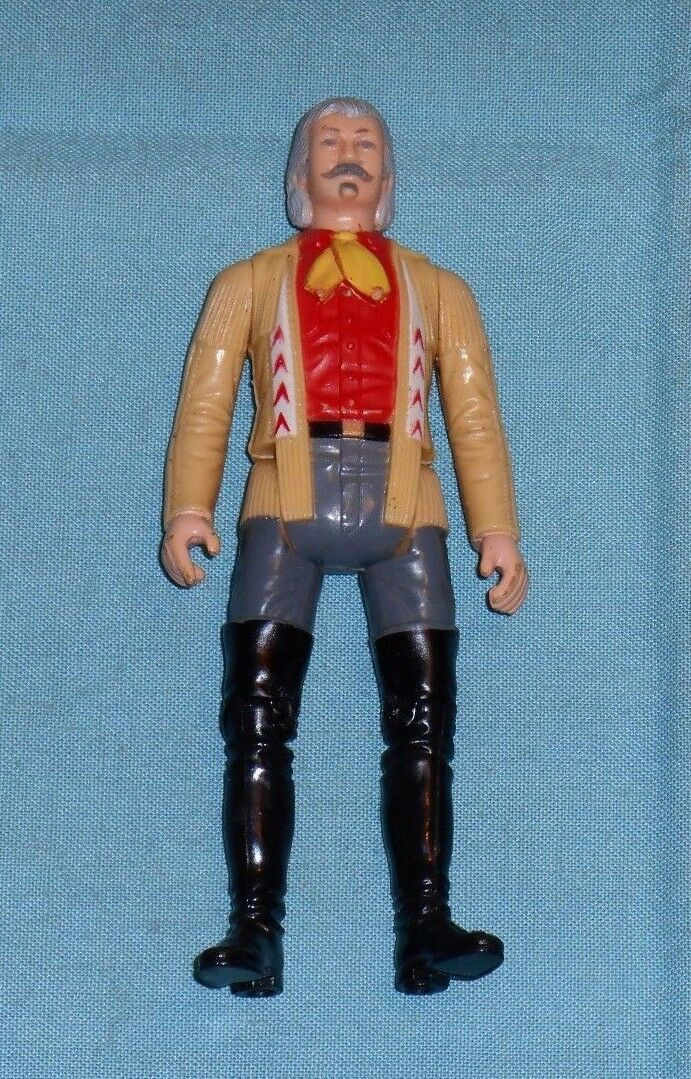 Vintage Gabriel The Legend of the Lone Ranger BUFFALO BILL CODY (unpainted arms)