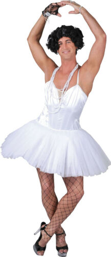 Adult Stag Night Fancy Club Party Men Funny Ballet Dancer Ballerina Costume UK