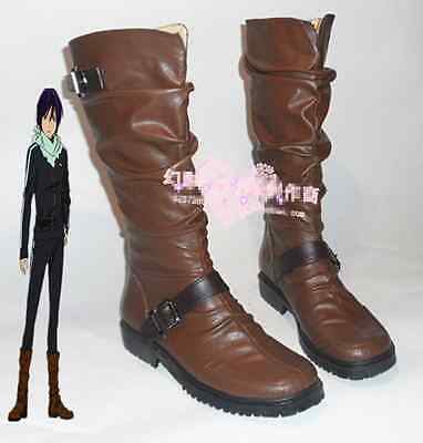 Anime Noragami Yato Cosplay Cos Boots Shoes Acessary Custom-made