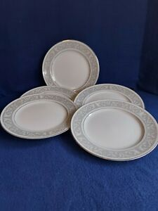 IMPERIAL CHINA W DALTON WHITNEY PATTERN 5671 MADE IN JAPAN 5 SALAD PLATES 7 1/2""