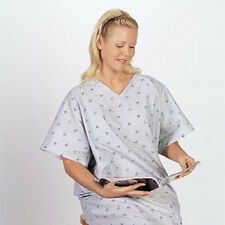 6 NEW HOSPITAL PATIENT GOWN MEDICAL EXAM GOWNS TWILL IV GOWN WHOLESALE DEAL