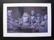 FRAMED CEREAL ART Trix Rabbit Count Chocula Cap'n Crunch Tony Tiger Frankenberry