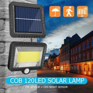 56-100-120-LED-Solar-Powered-PIR-Sensor-Garden-Wall-Light-Security-Flood-Outdoor