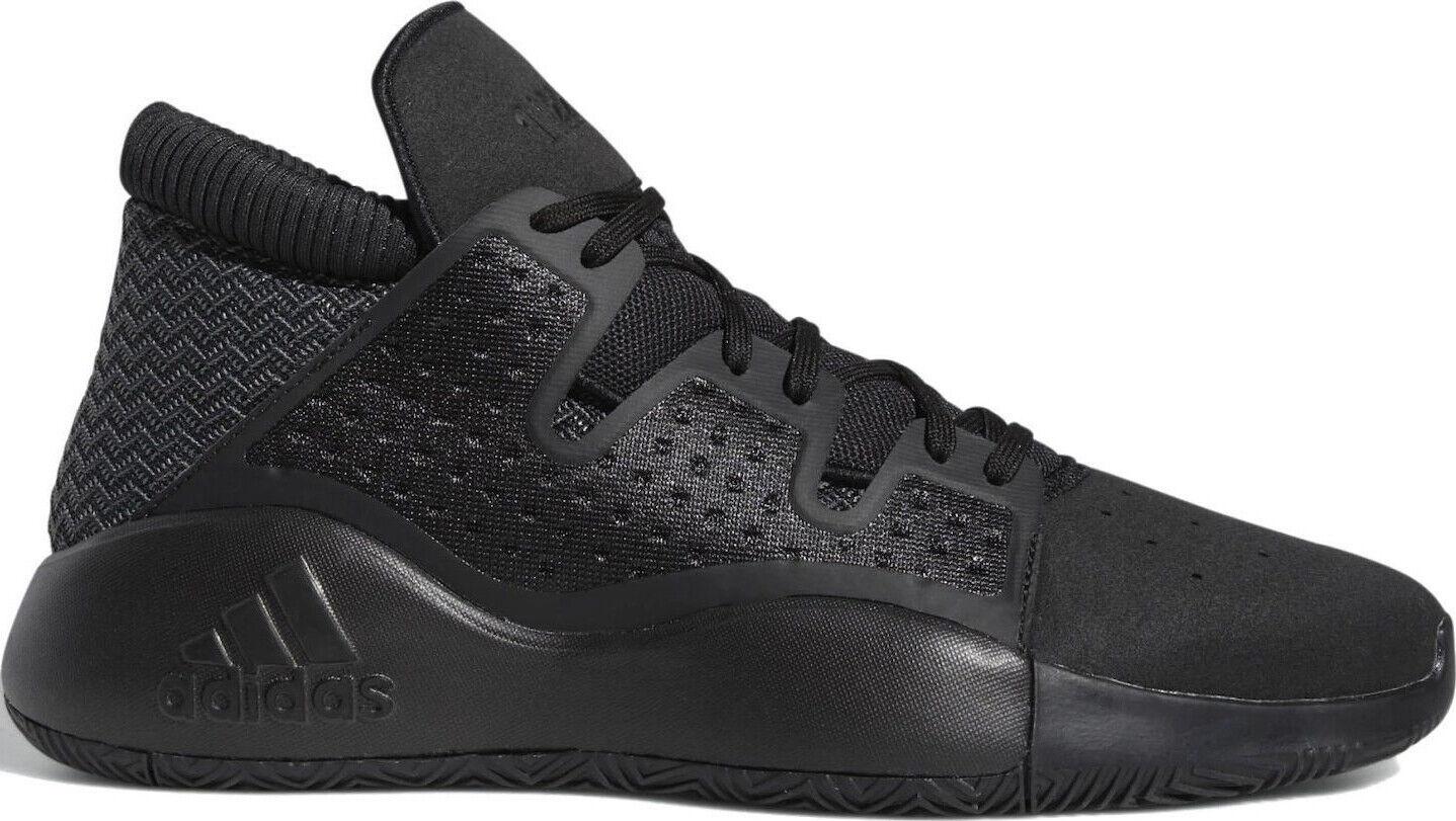 Uk Größe 12 - adidas pro vision trainers schwarz bb9303
