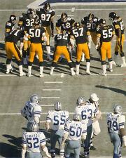 1976 Pittsburgh Steelers vs Dallas Cowboys Super Bowl 8x10 Photo TERRY BRADSHAW