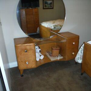 Leo Jiranek Heywood Wakefield Mid Century 3 Piece Bedroom Set Ebay