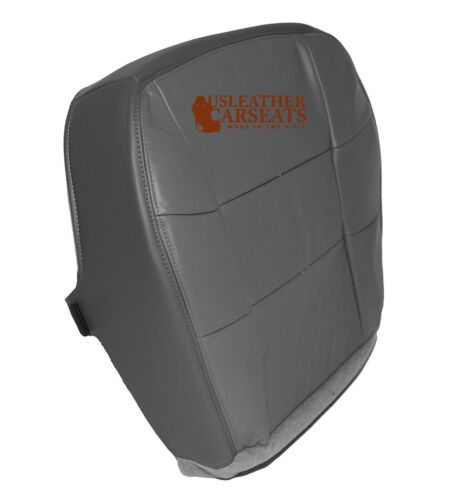 1997 1998 Lincoln Navigator Driver Bottom Replacement LEATHER Seat Cover Gray