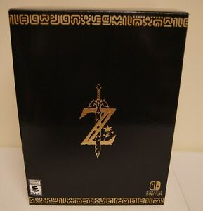New! The Legend of Zelda: Breath of the Wild [Master Edition] (Nintendo Switch)