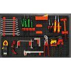 Werkzeugwand 800x480mm Kunststoff Lochwand Werkstattwand Werkzeugwandhalter