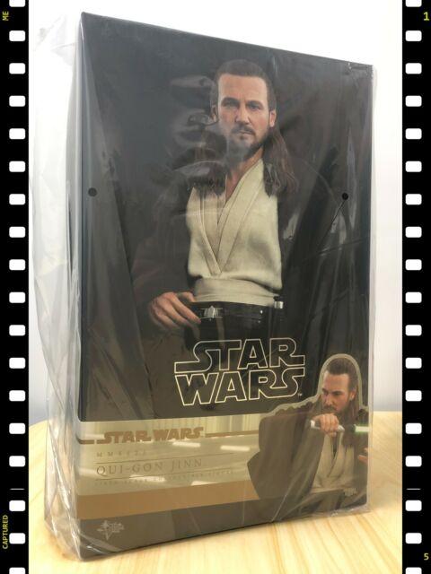 Hot Toys MMS 525 Star Wars The Phantom Menace Qui-Gon Jinn Liam Neeson NEW