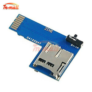 Details about Raspberry Pi Dual TF Card Adapter Micro SD Card 2 in 1 Dual  System Switcher
