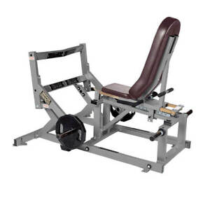 Details about Hammer Strength SUPER HORIZONTAL CALF RAISE Plate-Loaded Gym  Exercise Machine