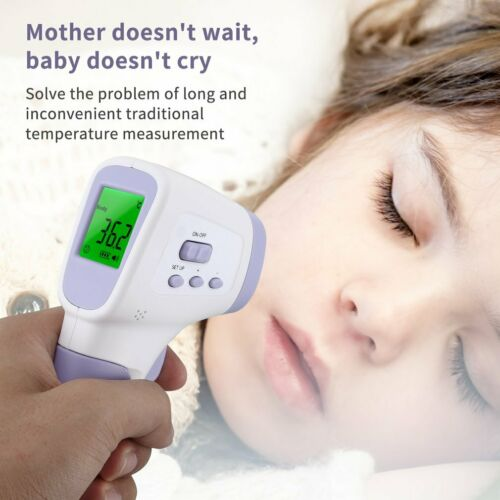 Thermometre Frontal Digitale Infrarouge Bebe Adulte Corps Medical Sans Contact~~