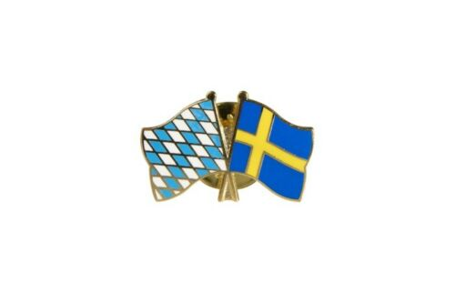 Bayern Schweden Flaggen Pin Fahnen Pins Fahnenpin Flaggenpin Anstecker