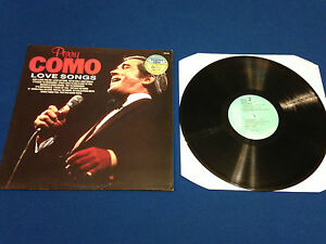 PERRY-COMO-LOVE-SONGS-GREATEST-HITS-L-P-LP-VINYL-LONG-PLAYER-USED