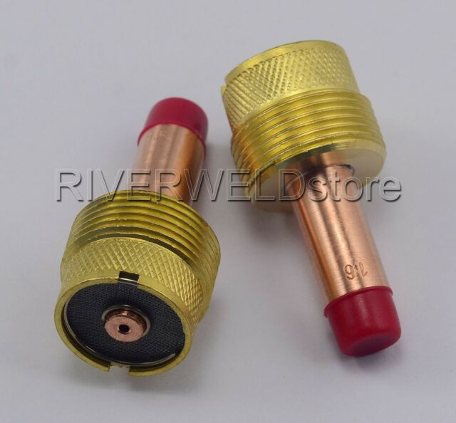 9Pcs TIG Welding Torch Kit Large Gas Lens Cups Collet Body For WP17//18//26