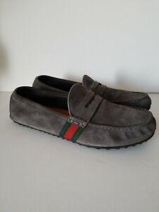 Gucci Kanye Driving Suede Men's Loafer