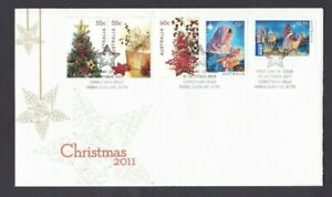 AFD1193-Australia-2011-Christmas-FDC-International-Post