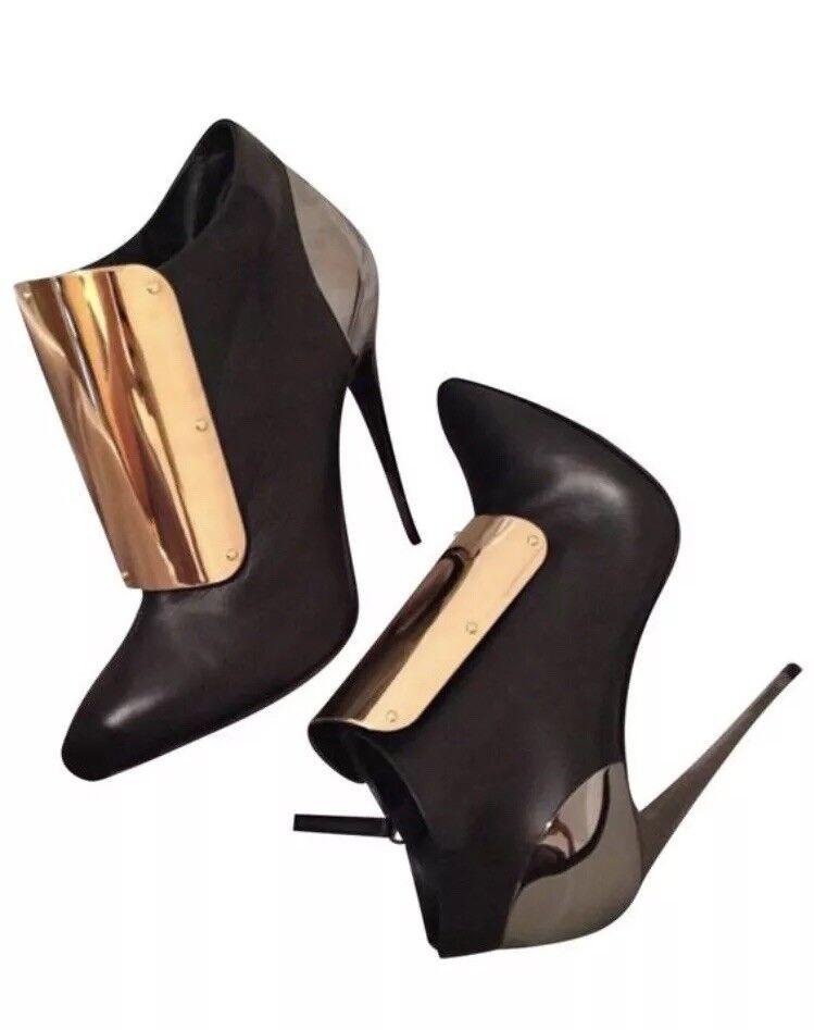 risparmiare sulla liquidazione MINT  WORN 1x - Giuseppe Zanotti oro Plated Ankle Ankle Ankle stivali,As Seen On Nicki Minaj  risparmia fino al 30-50% di sconto