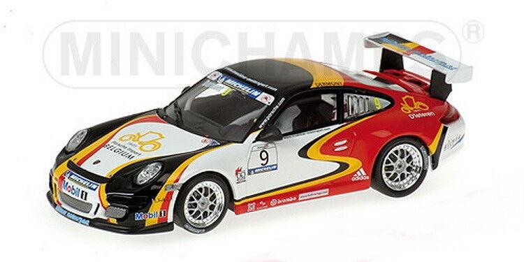 Scale model 1 43, PORSCHE 911 GT3 · MUEHLNER MOTORSPORT·PORSCHE SUPERCUP · 2006