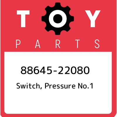 TOYOTA GENUINE 88645-34010 SWITCH PRESSURE OEM