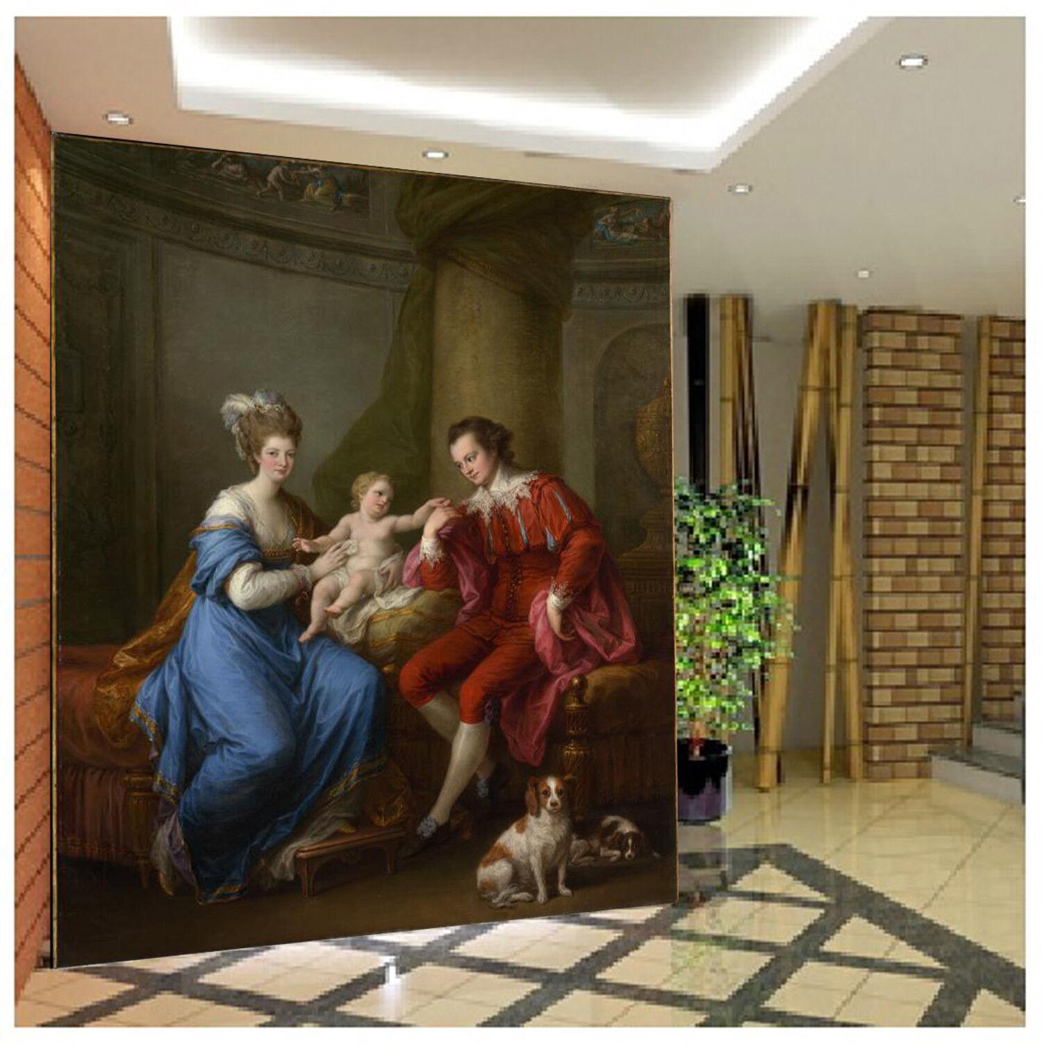 3D Family Paintin 74 Wallpaper Mural Wall Print Wall Wallpaper Murals US Sunmmer