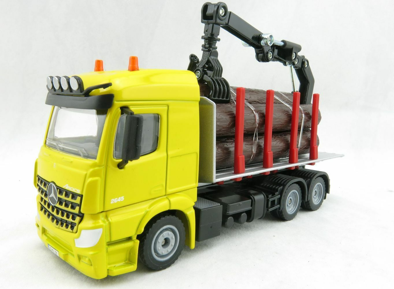 Siku 2714  Mercedes-Benz Acros Log Transporter Version 2019 Forestry Scale 1 50