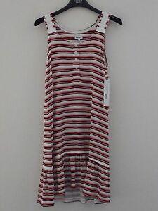 DKNY-women-039-s-size-XS-striped-summer-dress