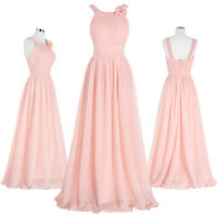 Women Formal Long Prom Dress Evening Cocktail Party Bridesmaid Wedding Guest