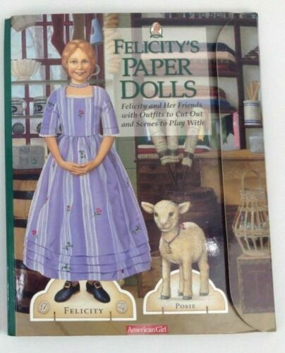 American Girl *FELICITY PAPER DOLL COLLECTION POSIE* Brand NEW~Uncut~Fast Ship