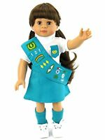 18in Doll Clothes Junior Girl Scout Outfit Fits 18in American Girl Dolls Clothin