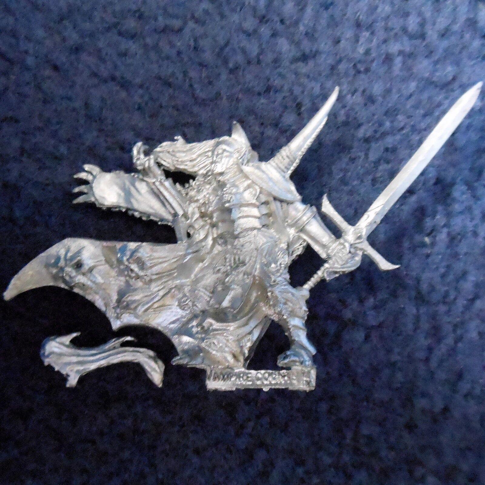 2007 Undead Vlad Von Carstein Citadel Warhammer Warhammer Warhammer Army Vampire Counts Lord Fantasy cd2b45