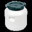 Kunststofffass 5-65L Gärbehälter Regenfass Deckelfass Fass für Kohl Gurken Tonne